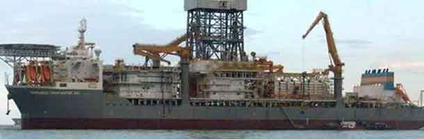 Transocean drilling ship sets new record
