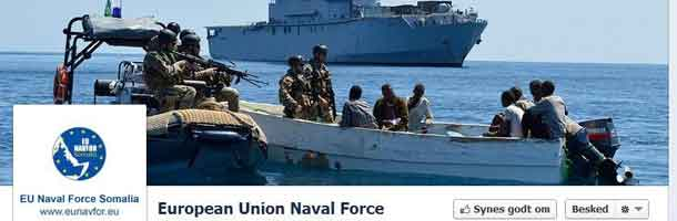 EU NAVFOR launches Facebook Page