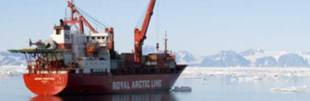 RAL ship has problems in Greenland