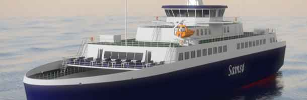 Ferries with alternative fuels