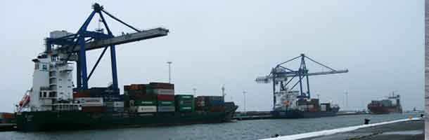 New container terminal in Copenhagen