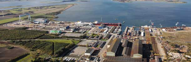 Port Expansion worth 358 million on Lindø