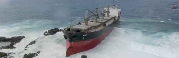 MV Benita has sunk on its way to India