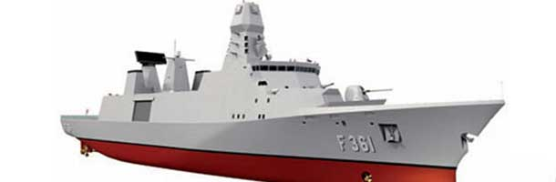 Danish frigates lack weapons