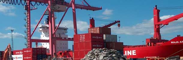 Plans for new container terminal in Aalborg