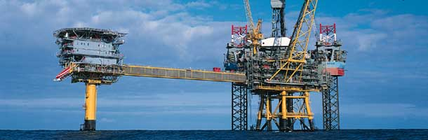 State revenue from North Sea was halved