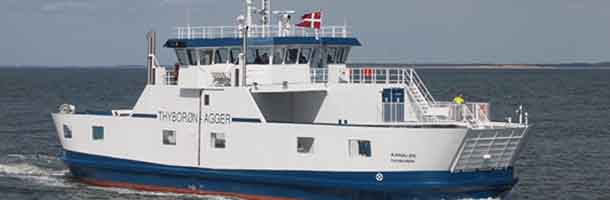 New ferry on Thyborøn and Agger route