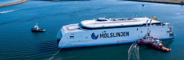 Moljslinjens new ferry is almost ready