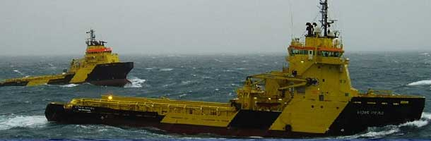 Viking Supply vessel Canadian icebreaker