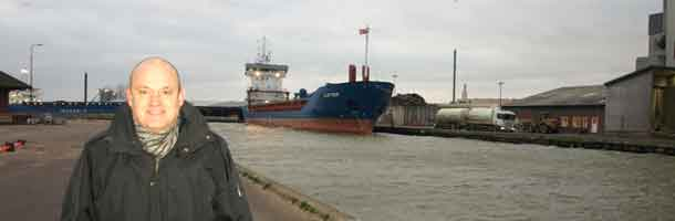 Decline in revenue at the port of Horsens