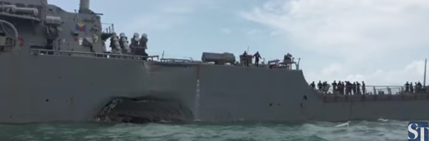 Officers punished for US Navy collisions