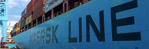 Fire onboard Maersk Line Limited ship