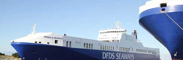 DFDS secures capacity on Göteborg-Gent