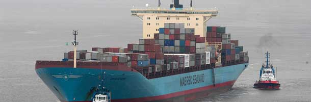 Maersk stock drops with 10 pct.