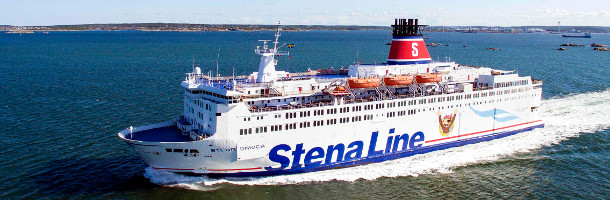 Stena Lines ferries are becoming more green
