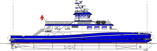 The Ærøexpress begins building new ferry