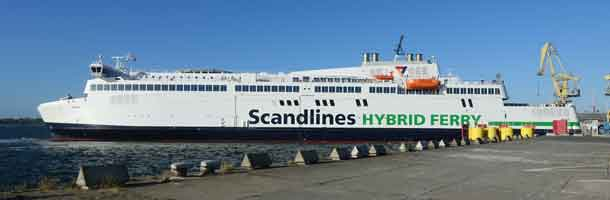 Scandlines Berlin ferry is back in operation