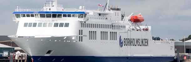 New Bornholm ferry arrives in Køge