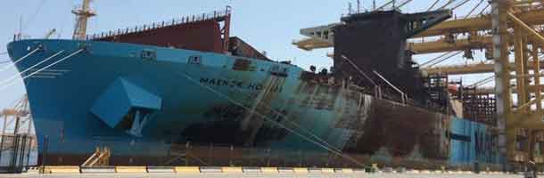 Maersk introduces random sampling