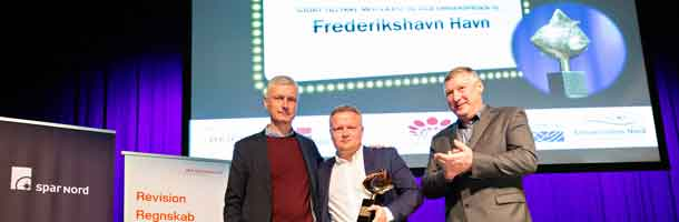 Port of Frederikshavn wins business award