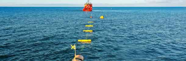 Esvagt tests wave power device