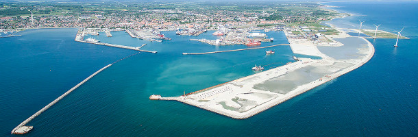 New oil terminal in Port of Frederikshavn
