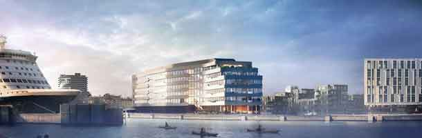 DFDS signs contract for new headquarters