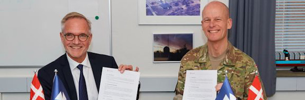New contract with Danish Defence