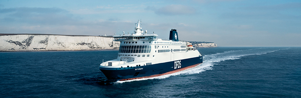 DFDS continues operating Channel ferries