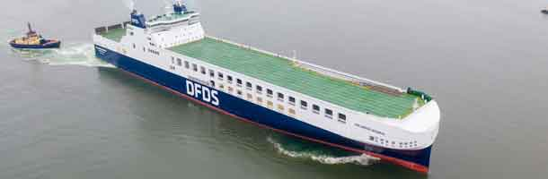 DFDS' Operating profit 10% down