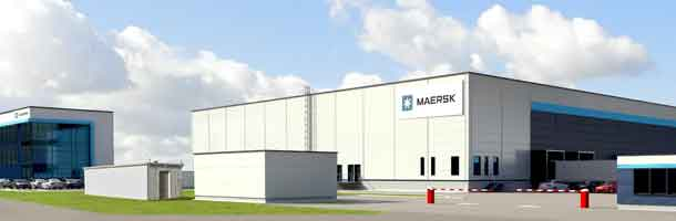 New carbon neutral Pharma warehouse
